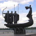 Кий, Щек и Хорив и их сестра Лыбедь