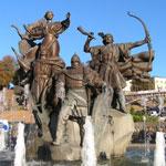 Кий, Щек и Хорив и Лыбедь на Майдане