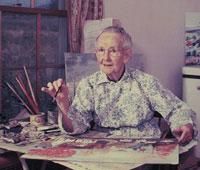 Бабушка Мозес воплотила свою мечту