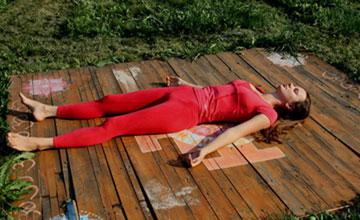 Упражнения на расслабление – шавасана-1