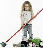 Счастье идет - перебираем игрушки