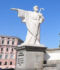 апостол Андрей Первозванный - памятник на Михайловской площади-2