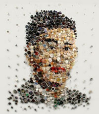 Необычные картины из мусора - Лиза Кокин