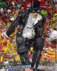 Необычные картины из мусора - Бернард Пра