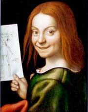 Музей Кастельвеккио – Портрет мальчика с детским рисунком