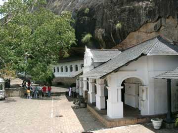Золотой храм Дамбулла - Пещерный комплекс