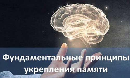 Фундаментальные принципы укрепления памяти